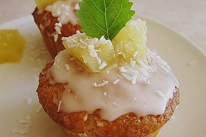Ananas - Kokos - Muffins