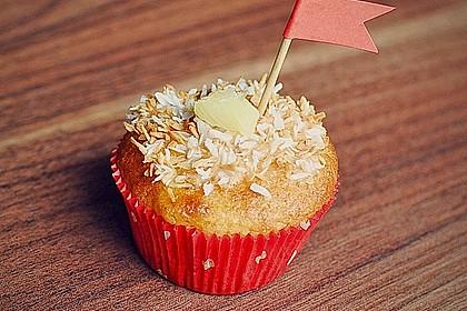 Ananas - Kokos - Muffins 2