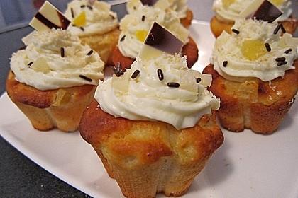 Ananas - Kokos - Muffins 9