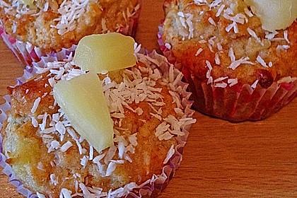 Ananas - Kokos - Muffins 16
