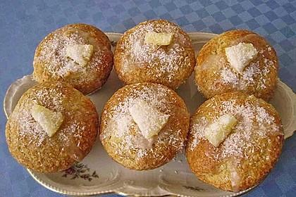 Ananas - Kokos - Muffins 26