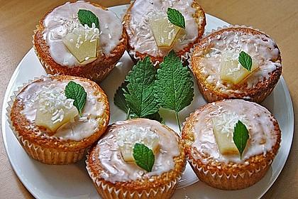 Ananas - Kokos - Muffins 11