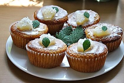 Ananas - Kokos - Muffins 1