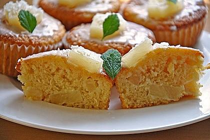 Ananas - Kokos - Muffins 7