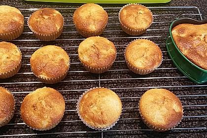 Ananas - Kokos - Muffins 4