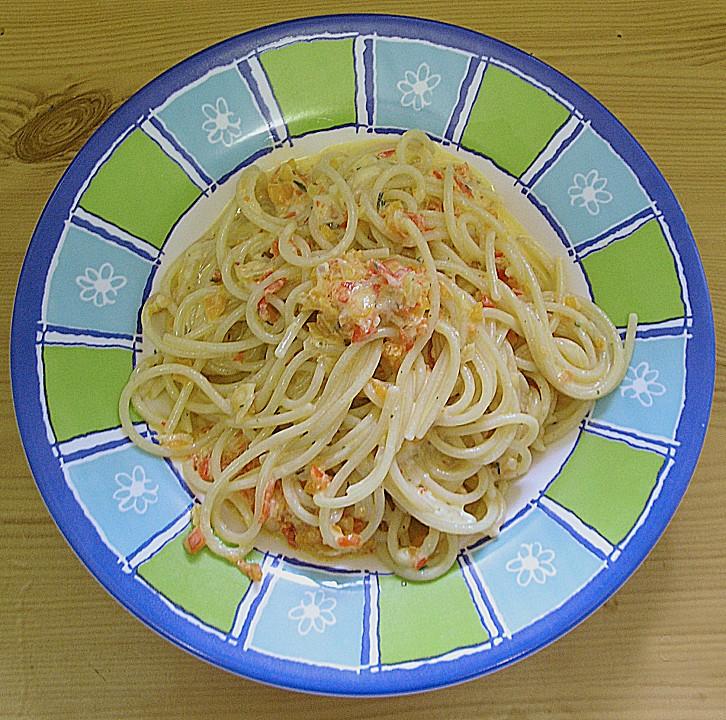 vegetarische spaghetti rezept mit bild von schnuebi. Black Bedroom Furniture Sets. Home Design Ideas