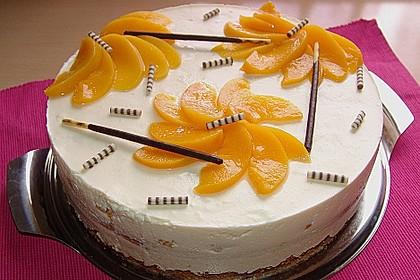Die weltbeste Käsesahne -Torte