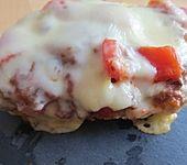 Pizza - Hackfleisch - Brötchen