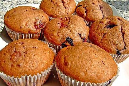 Beeren - Muffins 1