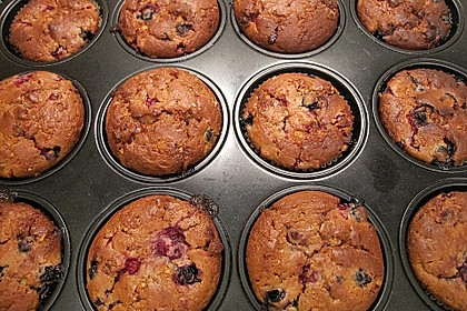 Beeren - Muffins 4