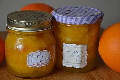 Eingelegte Orangen (Bild)