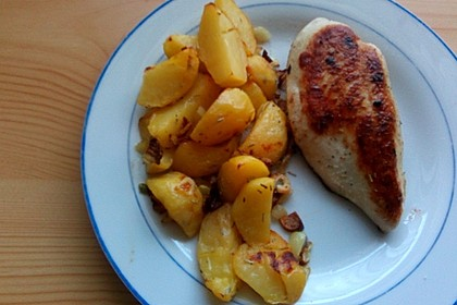 Rosmarin - Bratkartoffeln 4