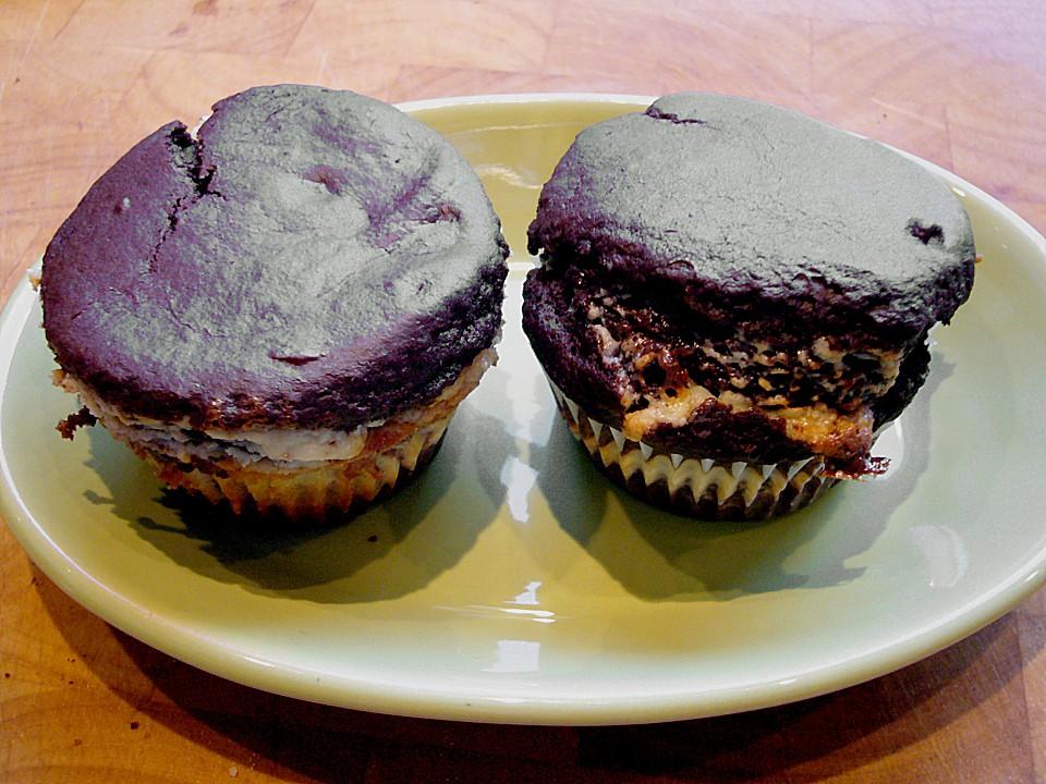 Schokoladen - Käsekuchen - Muffins (Rezept Mit Bild) | Chefkoch.De