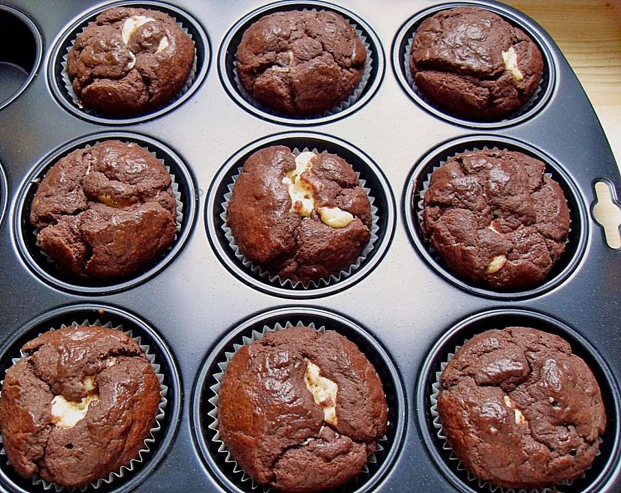 Schokoladen - Käsekuchen - Muffins von petrabc11 | Chefkoch.de