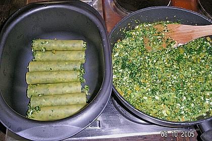 Vegetarische Gemüse - Pilz - Cannelloni 13