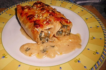 Vegetarische Gemüse - Pilz - Cannelloni 8
