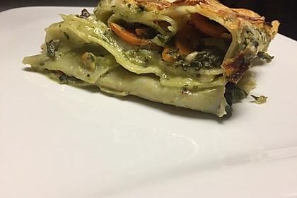 Vegetarische Gemüse - Pilz - Cannelloni 14
