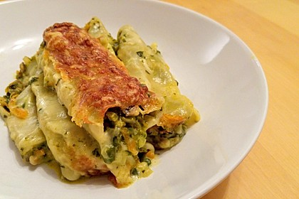 Vegetarische Gemüse - Pilz - Cannelloni 2