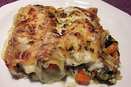 Vegetarische Gemüse - Pilz - Cannelloni 4