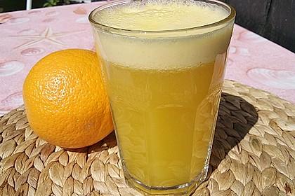 Molke - Orangen - Drink