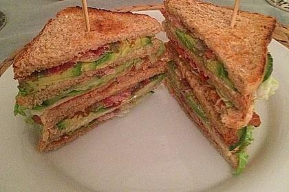 New York Club Sandwich 21