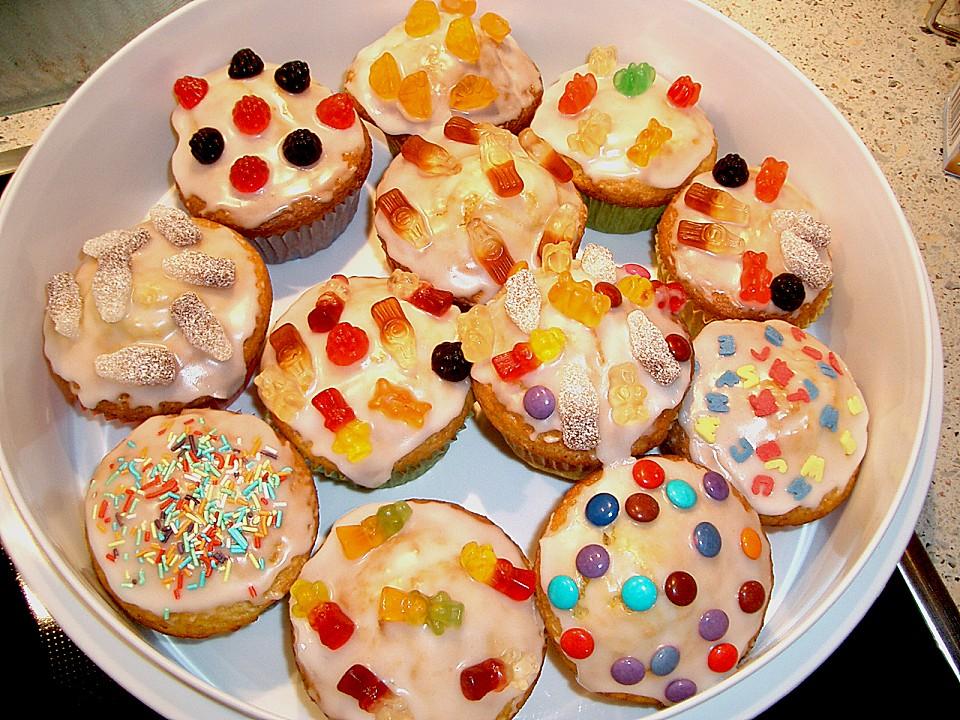 kindergeburtstags muffins rezept mit bild von tomjan. Black Bedroom Furniture Sets. Home Design Ideas
