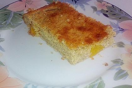 Haferflocken - Pfirsich - Auflauf