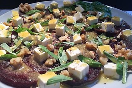 Rote Bete - Salat mit Schafskäse 15