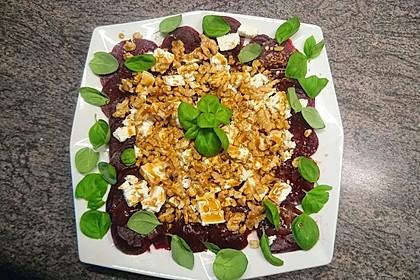 Rote Bete - Salat mit Schafskäse 12