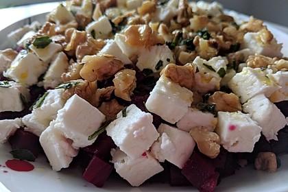 Rote Bete - Salat mit Schafskäse 13