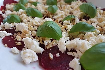 Rote Bete - Salat mit Schafskäse 11