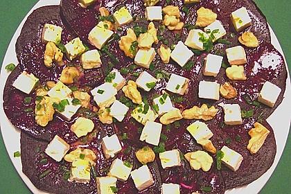 Rote Bete - Salat mit Schafskäse 22