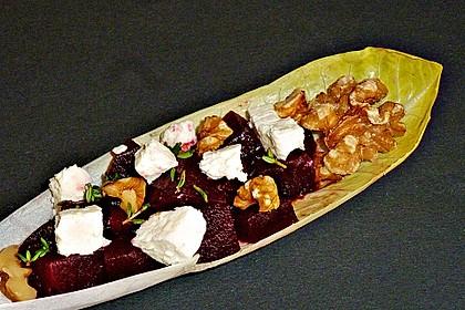 Rote Bete - Salat mit Schafskäse 14
