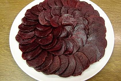 Rote Bete - Salat mit Schafskäse 29
