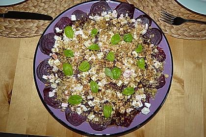 Rote Bete - Salat mit Schafskäse 24