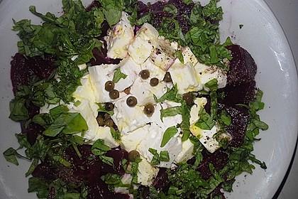 Rote Bete - Salat mit Schafskäse 21