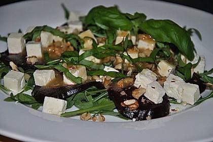 Rote Bete - Salat mit Schafskäse 6