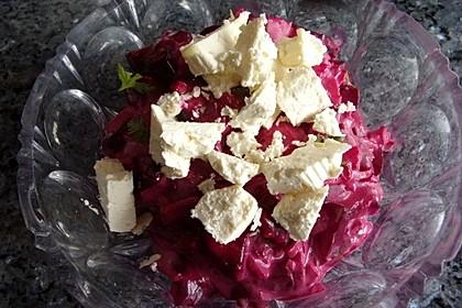Rote Bete - Salat mit Schafskäse 27