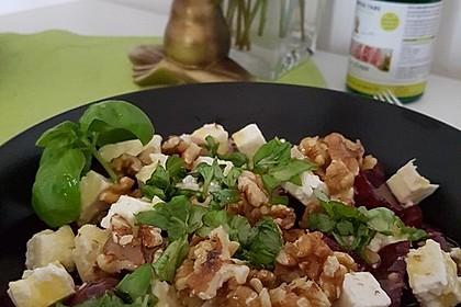 Rote Bete - Salat mit Schafskäse 9