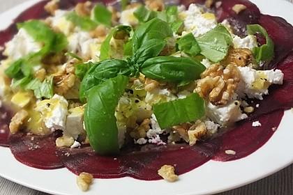 Rote Bete - Salat mit Schafskäse 1
