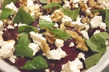 Rote Bete - Salat mit Schafskäse 8