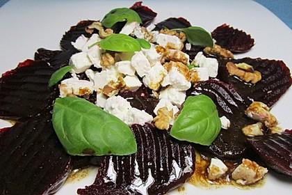 Rote Bete - Salat mit Schafskäse 19