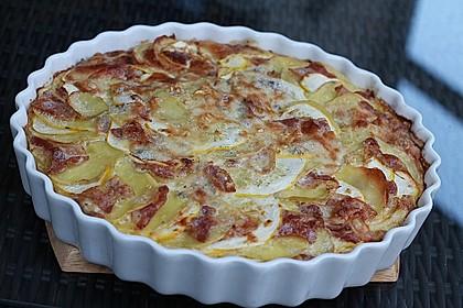 Kartoffel - Zucchini - Kuchen