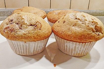 Stracciatella - Kirsch Muffins 33