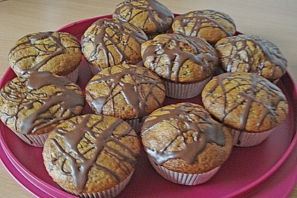 Stracciatella - Kirsch Muffins 26