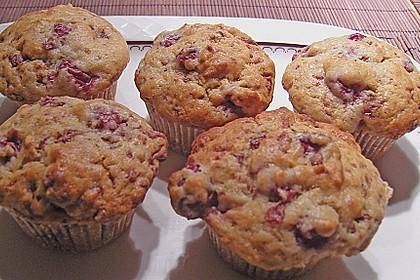 Stracciatella - Kirsch Muffins 37