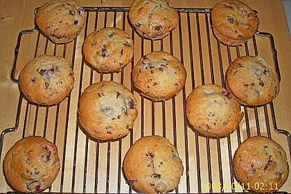 Stracciatella - Kirsch Muffins 29