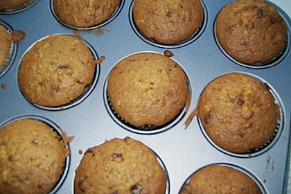 Stracciatella - Kirsch Muffins 73