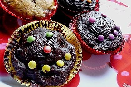 Stracciatella - Kirsch Muffins 59