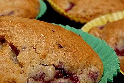 Stracciatella - Kirsch Muffins 22